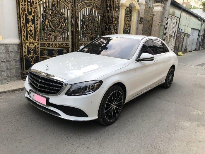 Bán Mercedes C200 sản xuất năm 2020, màu trắng (8)