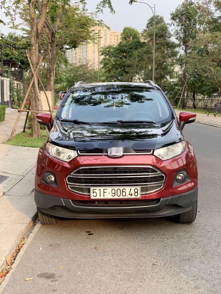 Bán ô tô Ford EcoSport sản xuất 2016, màu đỏ, nhập khẩu (2)