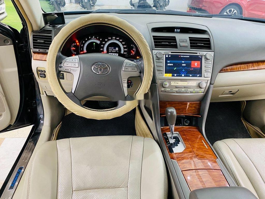 Cần bán gấp Toyota Camry 2.4G 2008, màu đen (7)