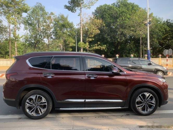 Bán Hyundai Santa Fe đời 2018, màu đỏ (3)