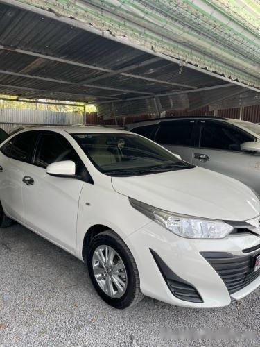 Xe Toyota Vios 1.5E MT năm sản xuất 2019, màu trắng, giá 435tr (3)