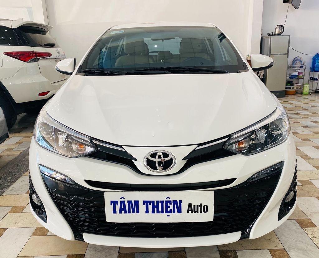 Bán xe Toyota Yaris G năm sản xuất 2018, màu trắng (1)