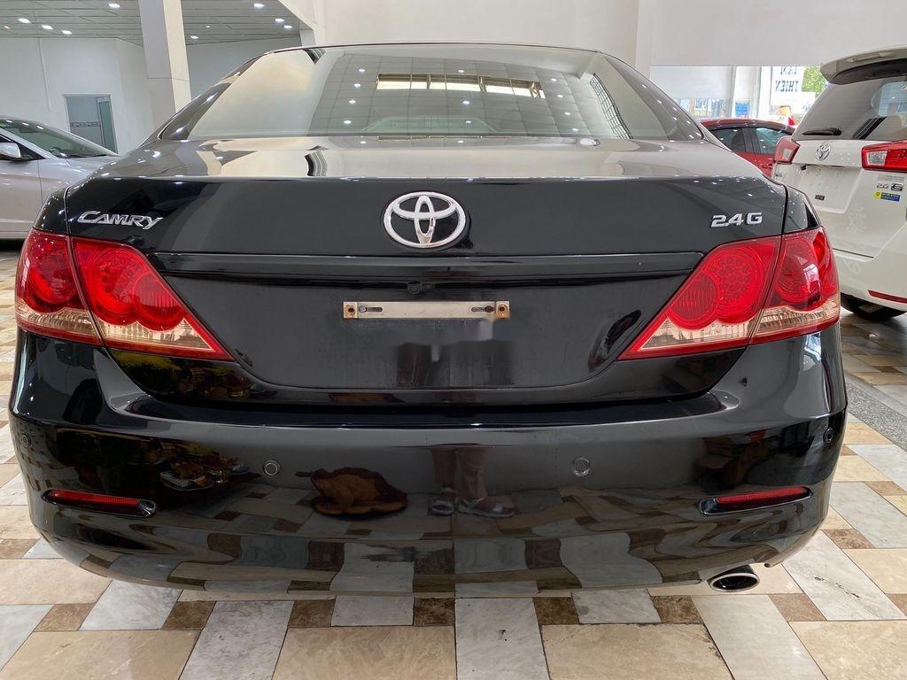 Cần bán gấp Toyota Camry 2.4G 2008, màu đen (4)