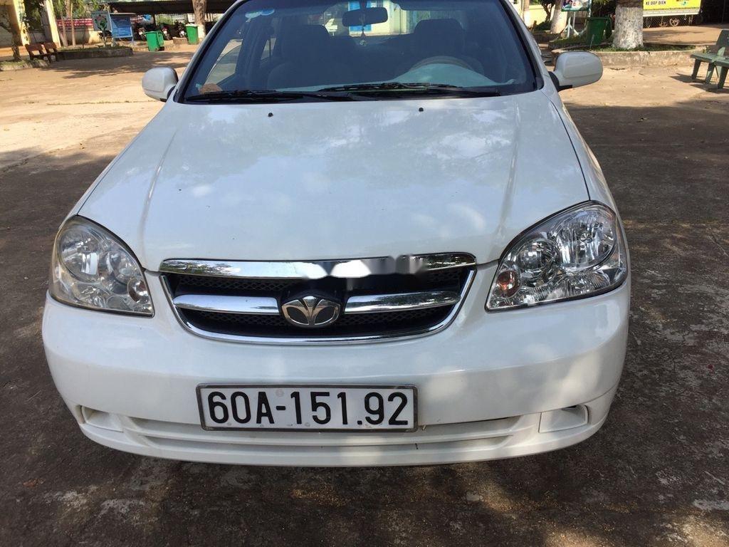 Xe Daewoo Lacetti năm 2008, màu trắng, xe nhập  (1)