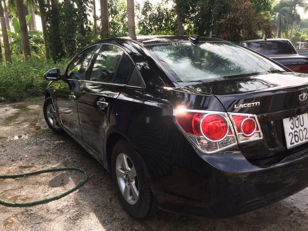 Cần bán xe Daewoo Lacetti sản xuất năm 2009, màu đen (1)