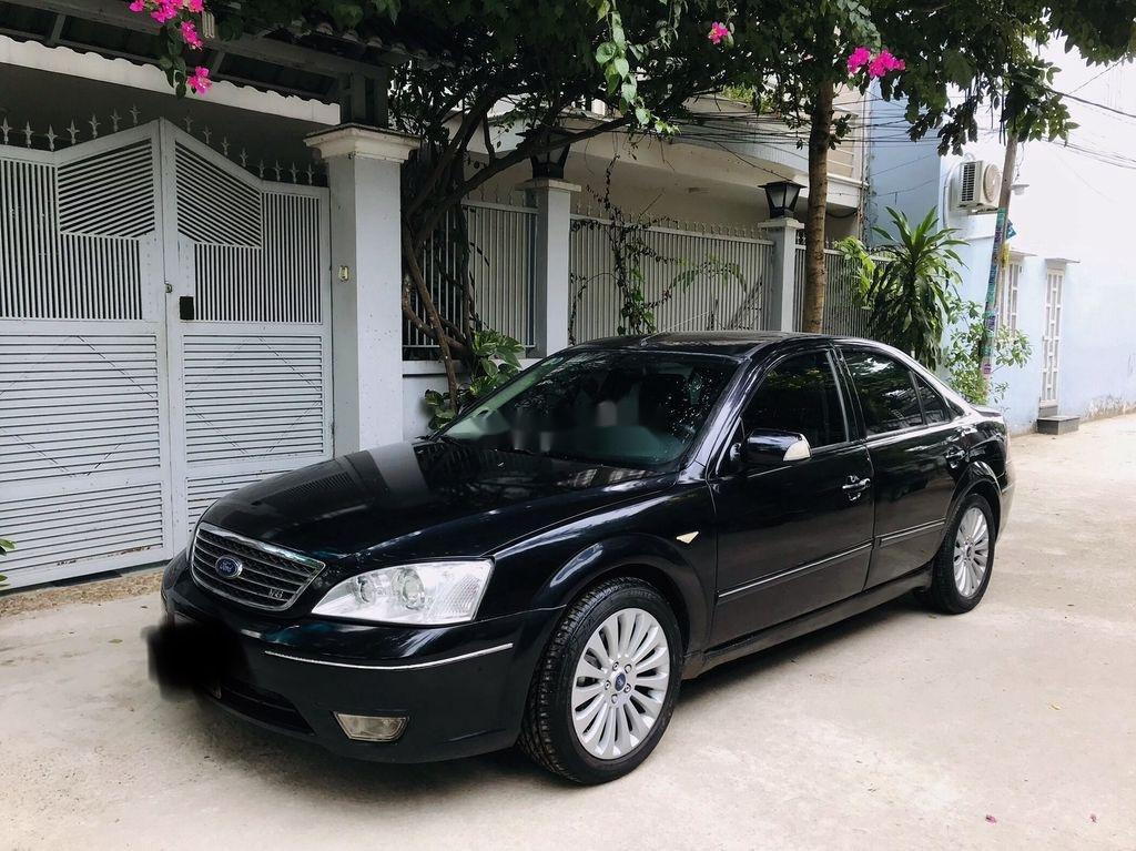 Cần bán Ford Mondeo 2005, màu đen, giá 189tr (1)