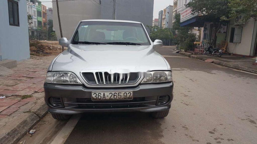 Bán Ssangyong Musso 2003 Số sàn năm sản xuất 2003, 105 triệu (1)
