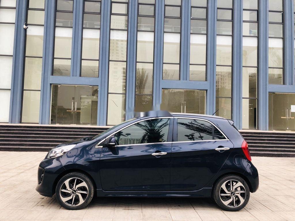 Bán ô tô Kia Morning đời 2018 còn mới, màu xanh đen (1)