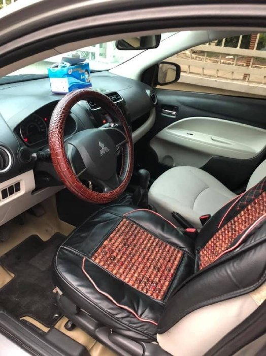 Bán Mitsubishi Attrage năm 2018, màu xám, xe nhập, giá chỉ 325 triệu (8)