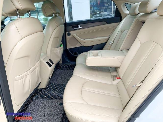 Xe Hyundai Sonata 2.0 đời 2015, màu trắng, giá tốt (7)