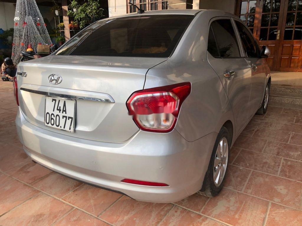 Bán xe Hyundai Grand i10 sản xuất năm 2016, màu bạc, nhập khẩu  (2)