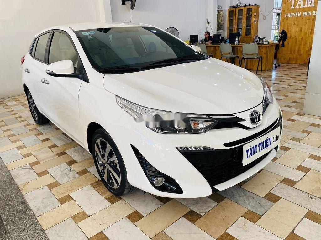 Bán xe Toyota Yaris G năm sản xuất 2018, màu trắng (3)