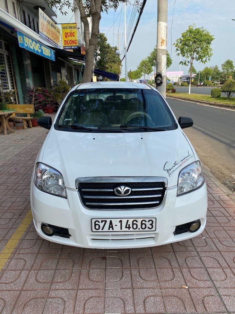 Bán xe Daewoo Gentra 2009, màu trắng còn mới (2)
