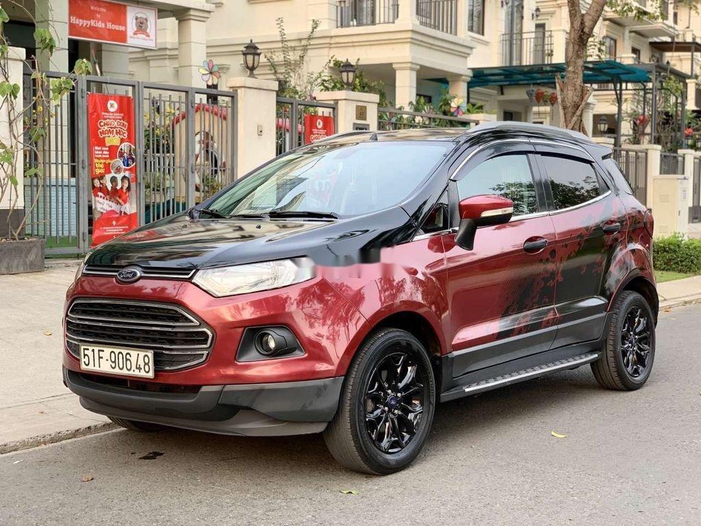 Bán ô tô Ford EcoSport sản xuất 2016, màu đỏ, nhập khẩu (1)