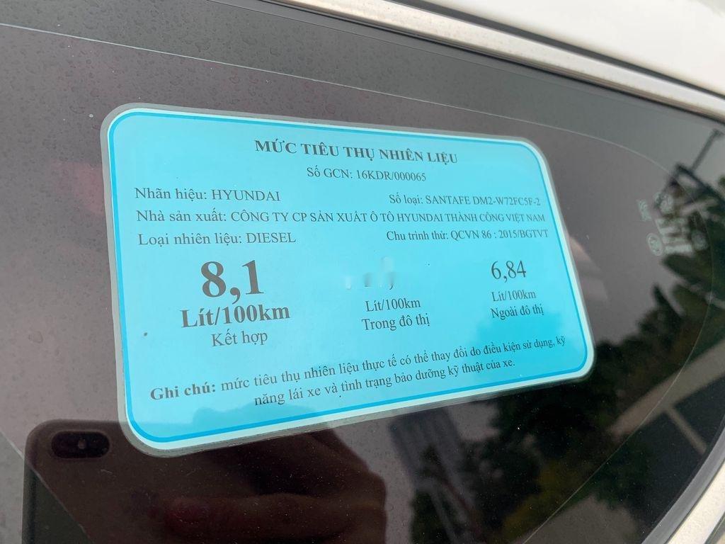 Bán ô tô Hyundai Santa Fe năm sản xuất 2018 còn mới, giá 899tr (11)