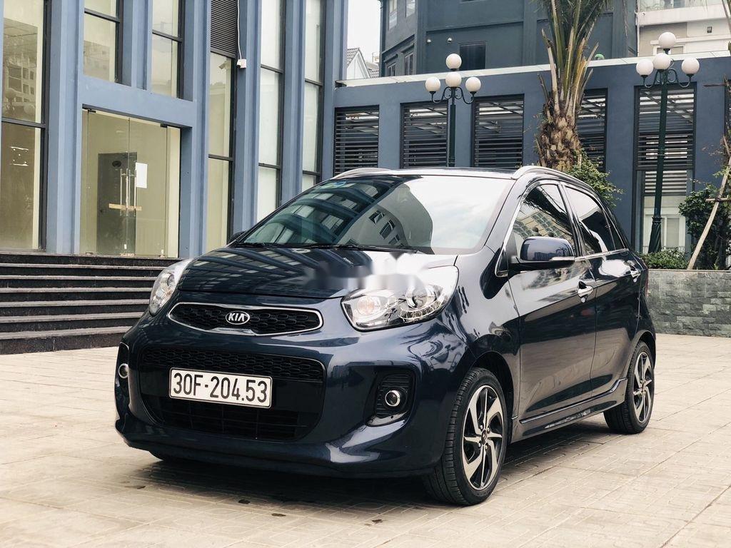 Bán ô tô Kia Morning đời 2018 còn mới, màu xanh đen (3)