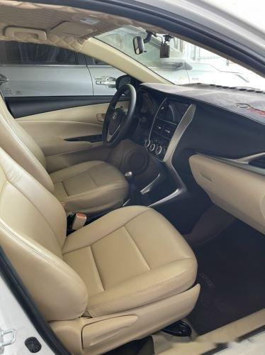Xe Toyota Vios 1.5E MT năm sản xuất 2019, màu trắng, giá 435tr (5)