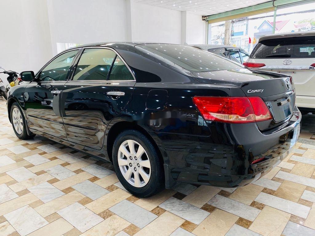 Cần bán gấp Toyota Camry 2.4G 2008, màu đen (6)