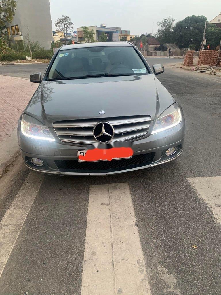 Bán Mercedes C250 năm sản xuất 2009, màu xám (1)