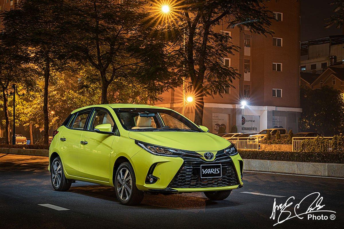 Toyota Yaris 2021 vẫn là sự lựa chọn hàng đầu ở phân khúc xe hạng B.