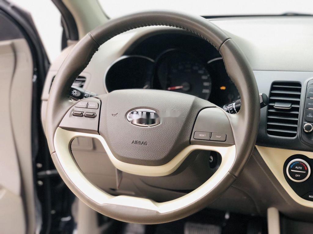 Bán ô tô Kia Morning đời 2018 còn mới, màu xanh đen (8)