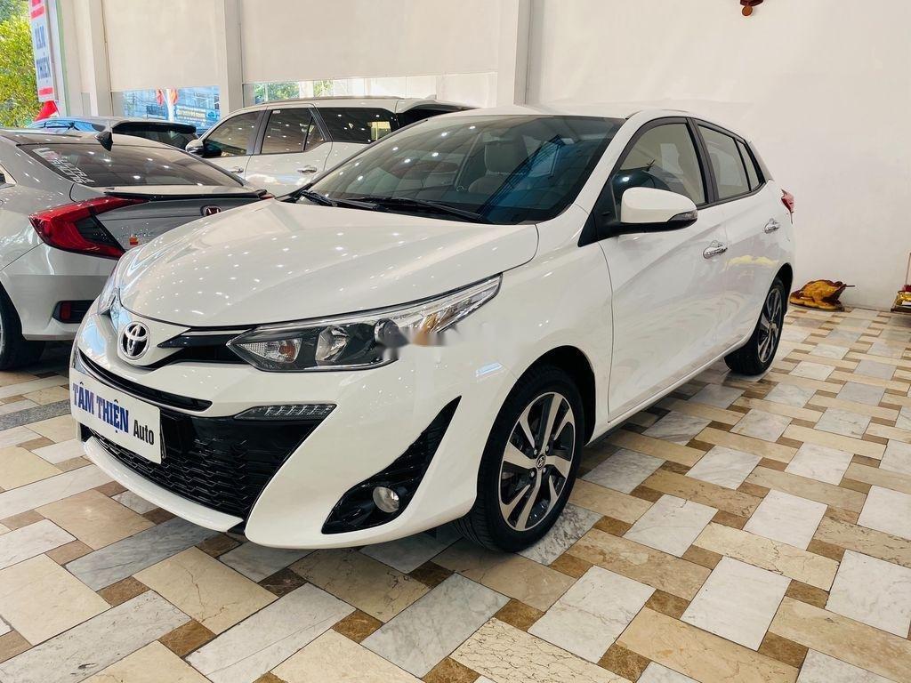 Bán xe Toyota Yaris G năm sản xuất 2018, màu trắng (2)