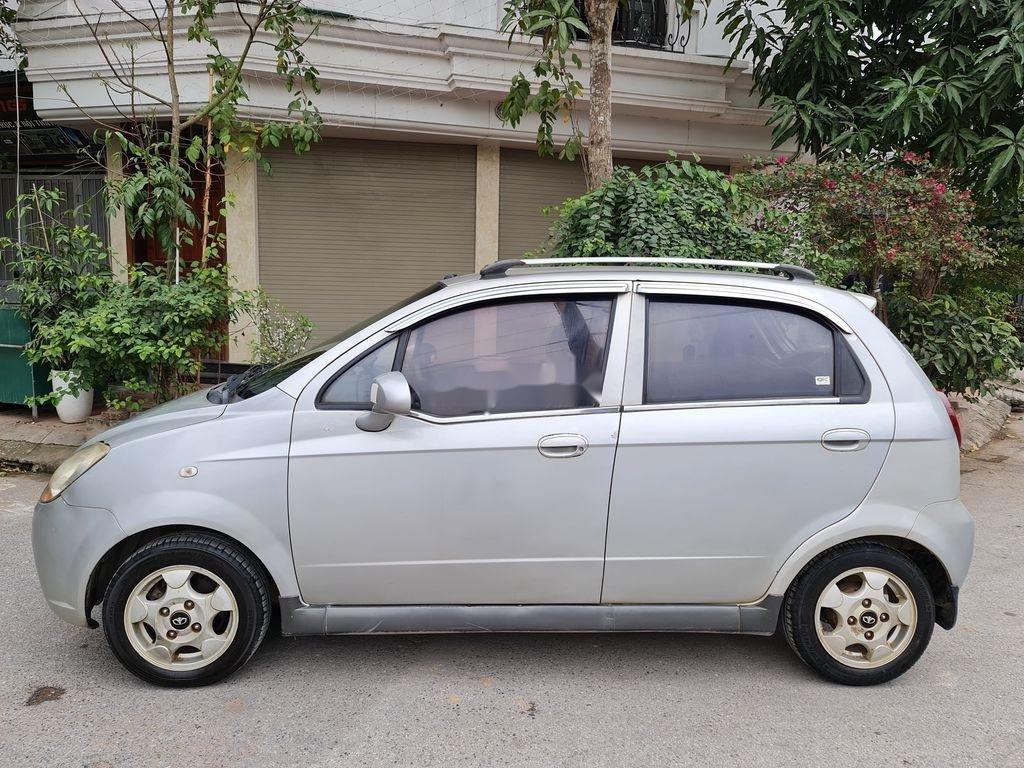 Bán Chevrolet Spark đời 2008, màu bạc, xe nhập, giá chỉ 142 triệu (1)