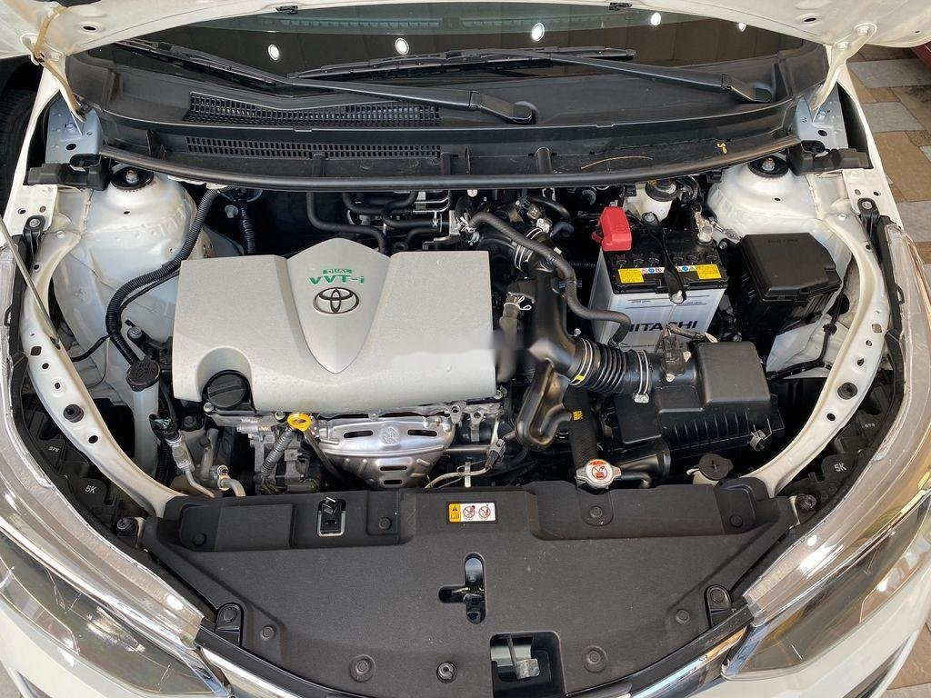 Bán xe Toyota Yaris G năm sản xuất 2018, màu trắng (12)