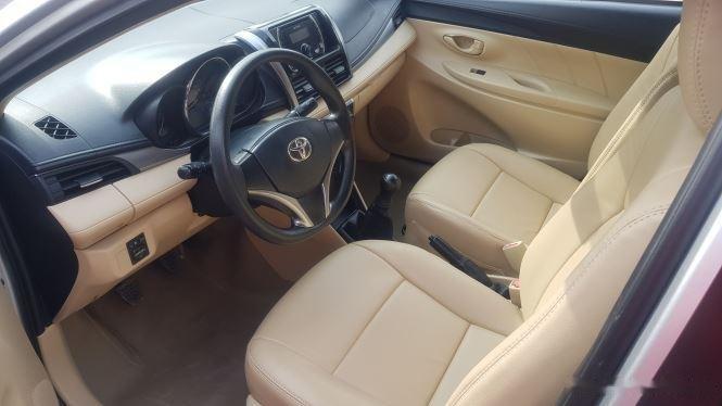 Cần bán xe Toyota Vios 1.5E MT đời 2016, màu bạc (8)