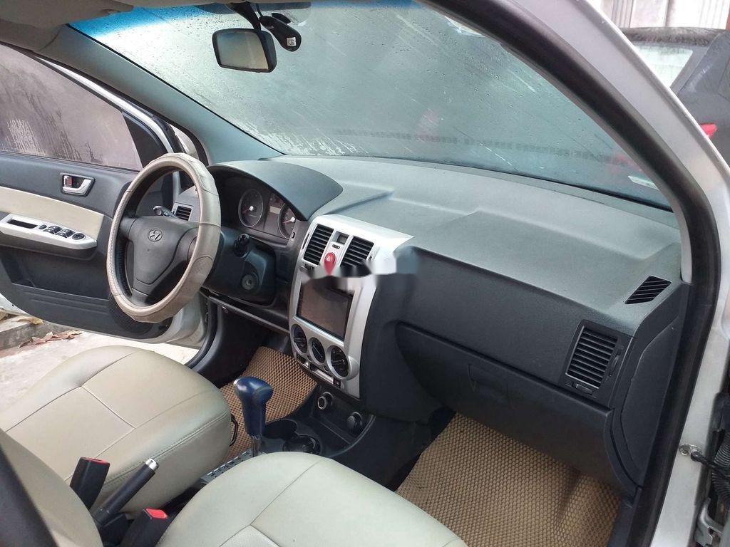 Bán Hyundai Getz năm sản xuất 2007, màu bạc, nhập khẩu, giá tốt (5)