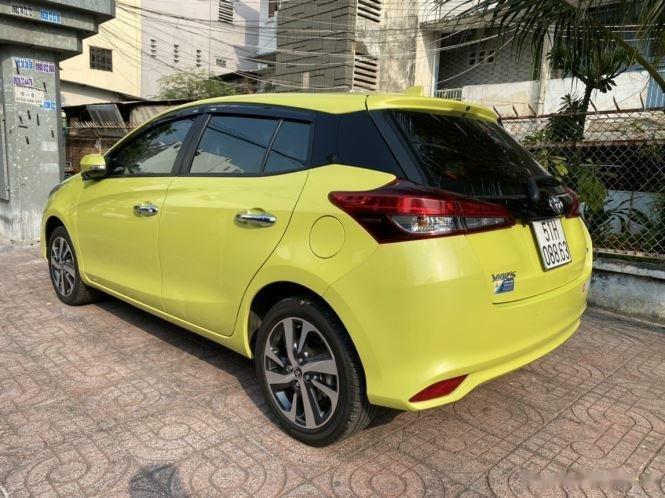 Cần bán gấp Toyota Yaris G năm 2019, màu vàng, xe nhập (3)