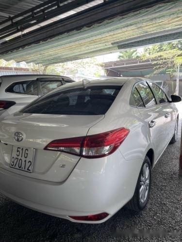 Xe Toyota Vios 1.5E MT năm sản xuất 2019, màu trắng, giá 435tr (4)