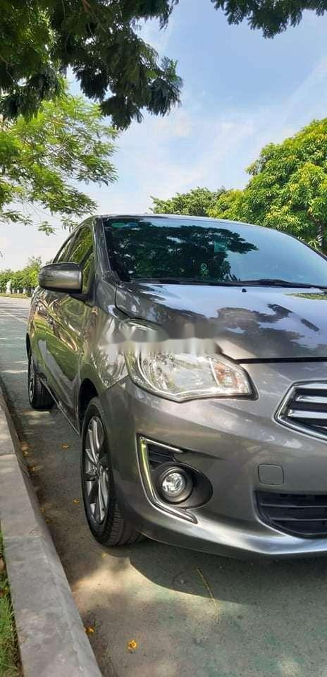 Bán Mitsubishi Attrage đời 2017, màu xám, nhập khẩu nguyên chiếc (4)