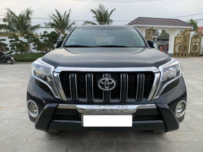 Bán Toyota Prado sản xuất 2015, màu đen, nhập khẩu (1)