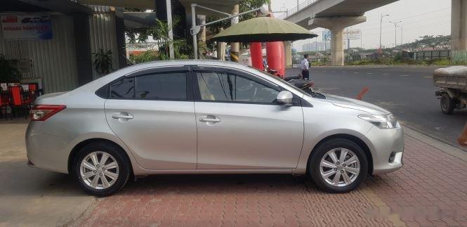 Cần bán xe Toyota Vios 1.5E MT đời 2016, màu bạc (6)