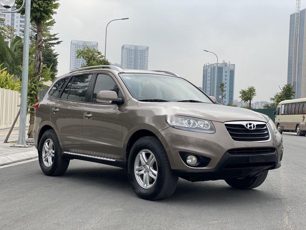 Bán Hyundai Santa Fe sản xuất 2010, xe nhập còn mới (1)