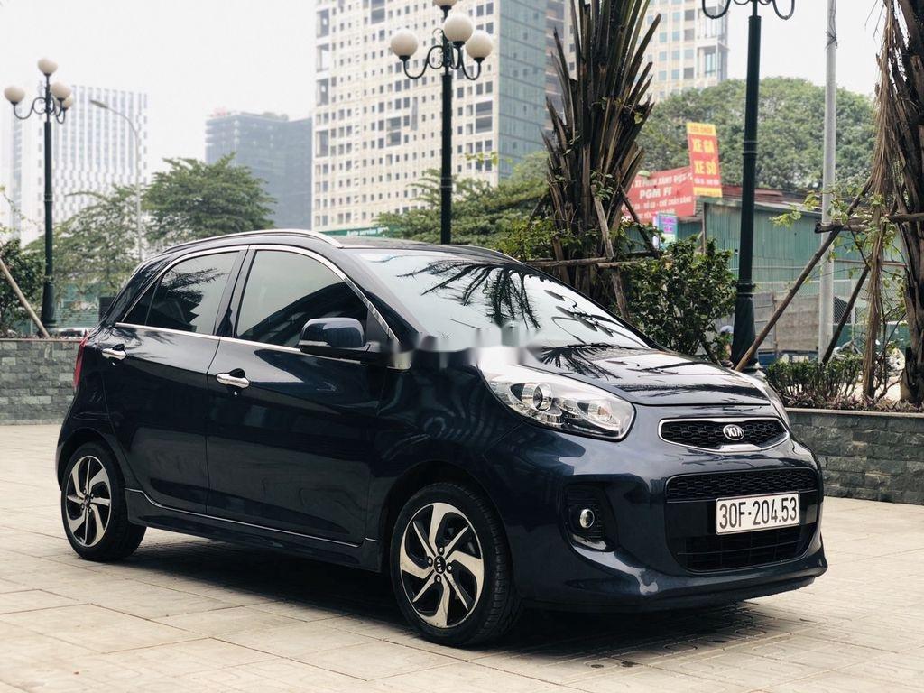 Bán ô tô Kia Morning đời 2018 còn mới, màu xanh đen (5)