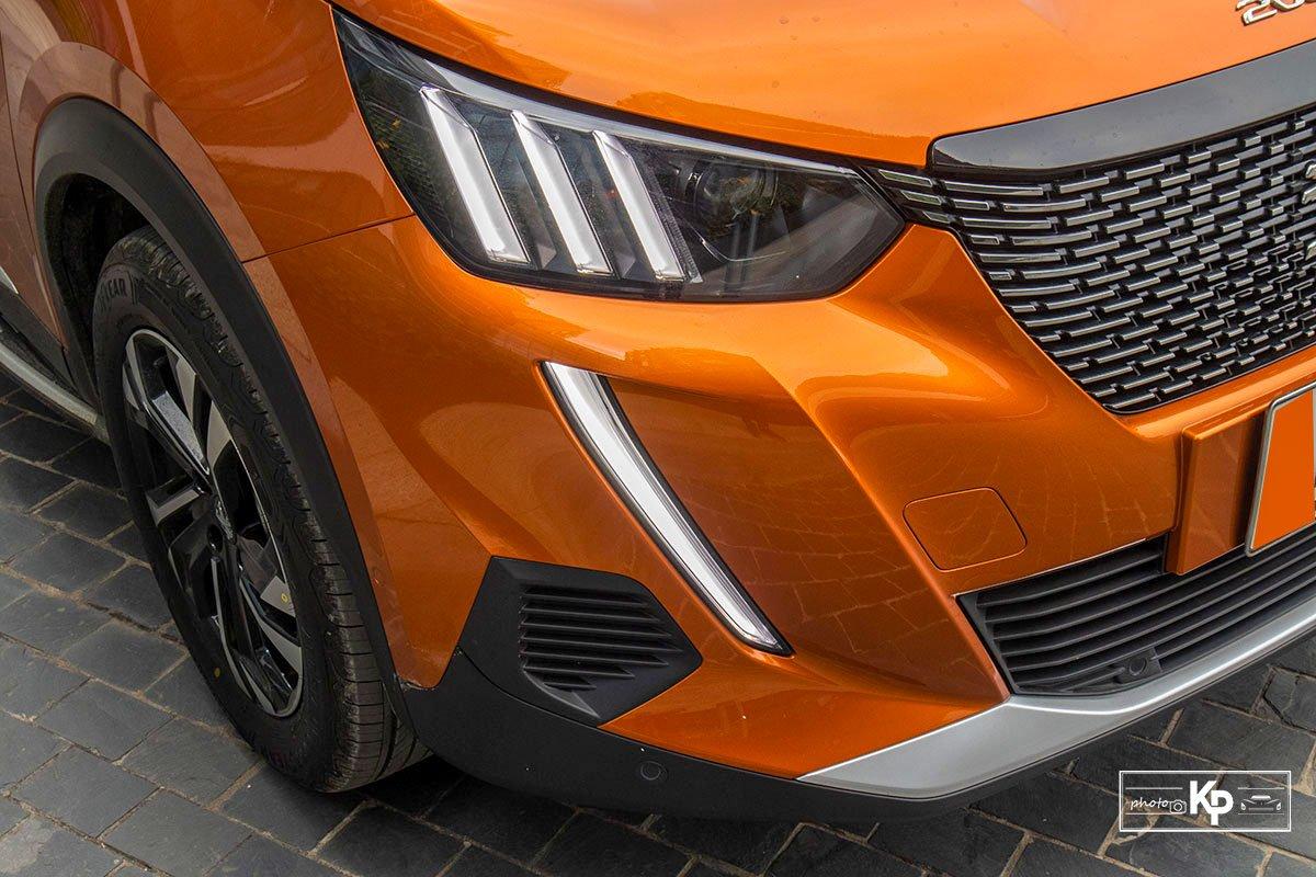 Ảnh Đèn pha xe Peugeot 2008 2021
