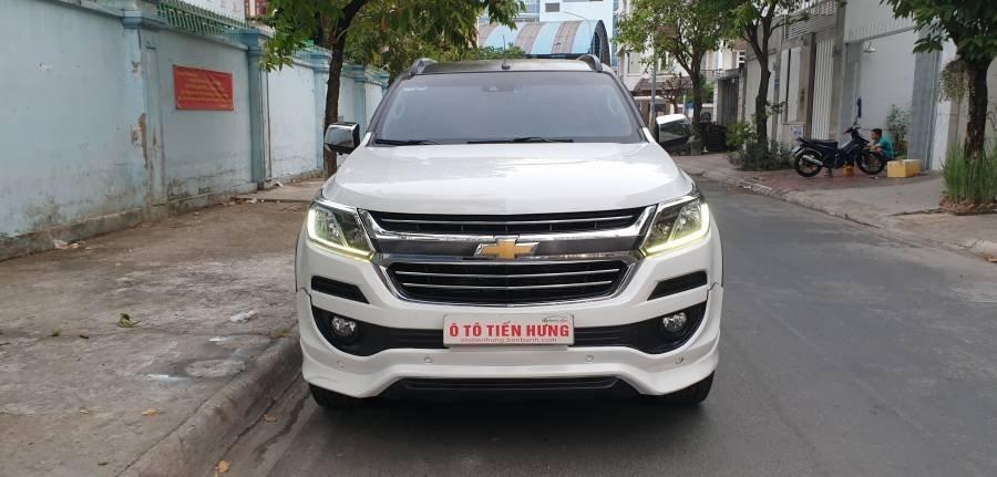 Bán ô tô Chevrolet Trailblazer 2.5 AT năm 2018, màu trắng, nhập khẩu (28)