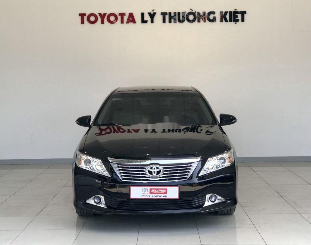 Cần bán Toyota Camry 2.5G 2012, màu đen chính chủ, 690tr (1)