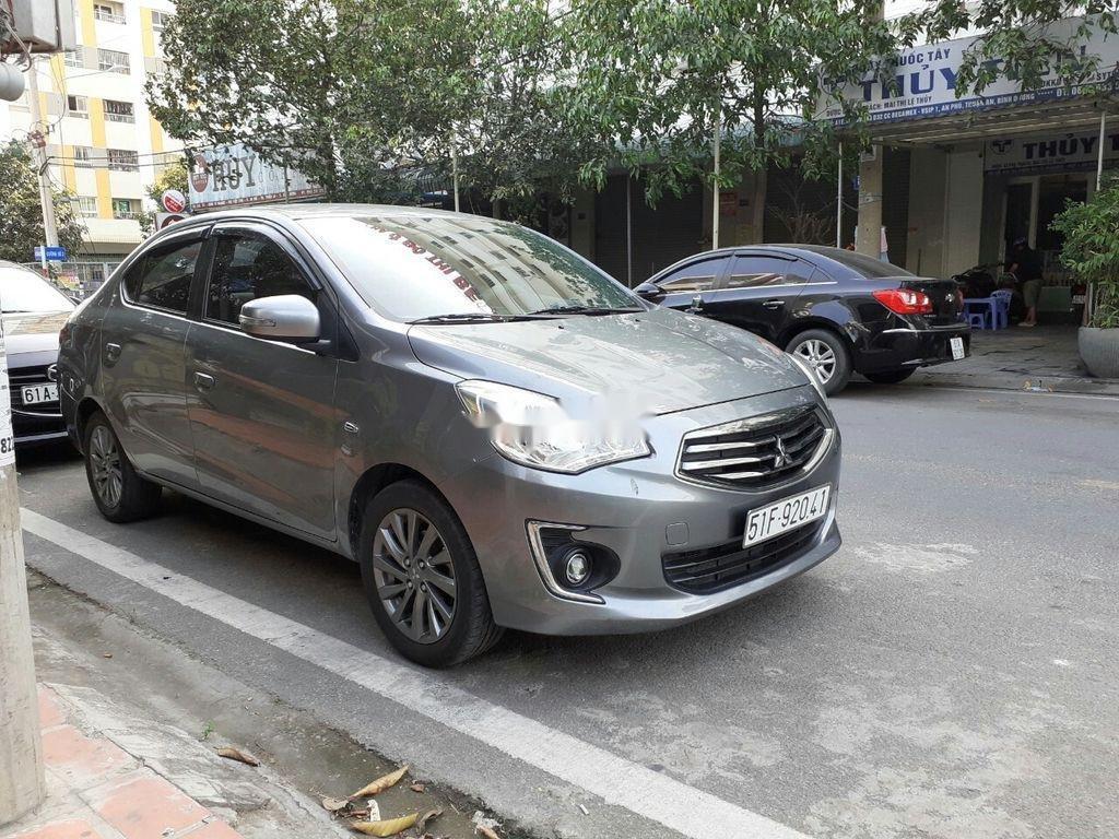 Xe Mitsubishi Attrage đời 2016, màu xám, xe nhập (1)