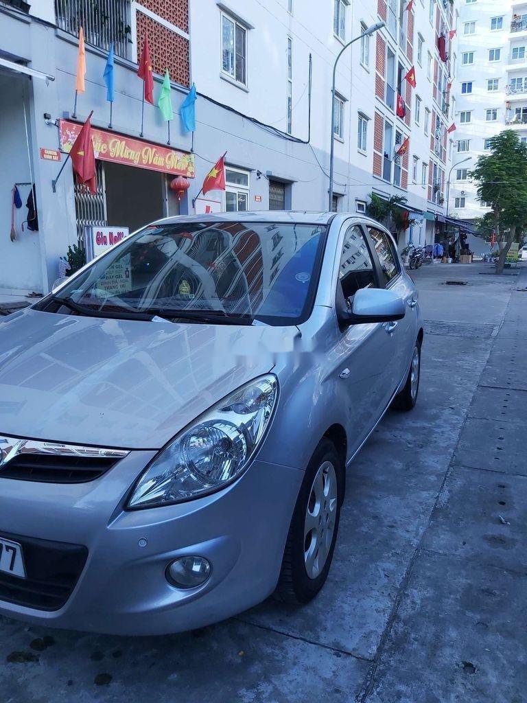 Bán ô tô Hyundai i20 năm 2011, màu bạc, nhập khẩu, 295tr (1)