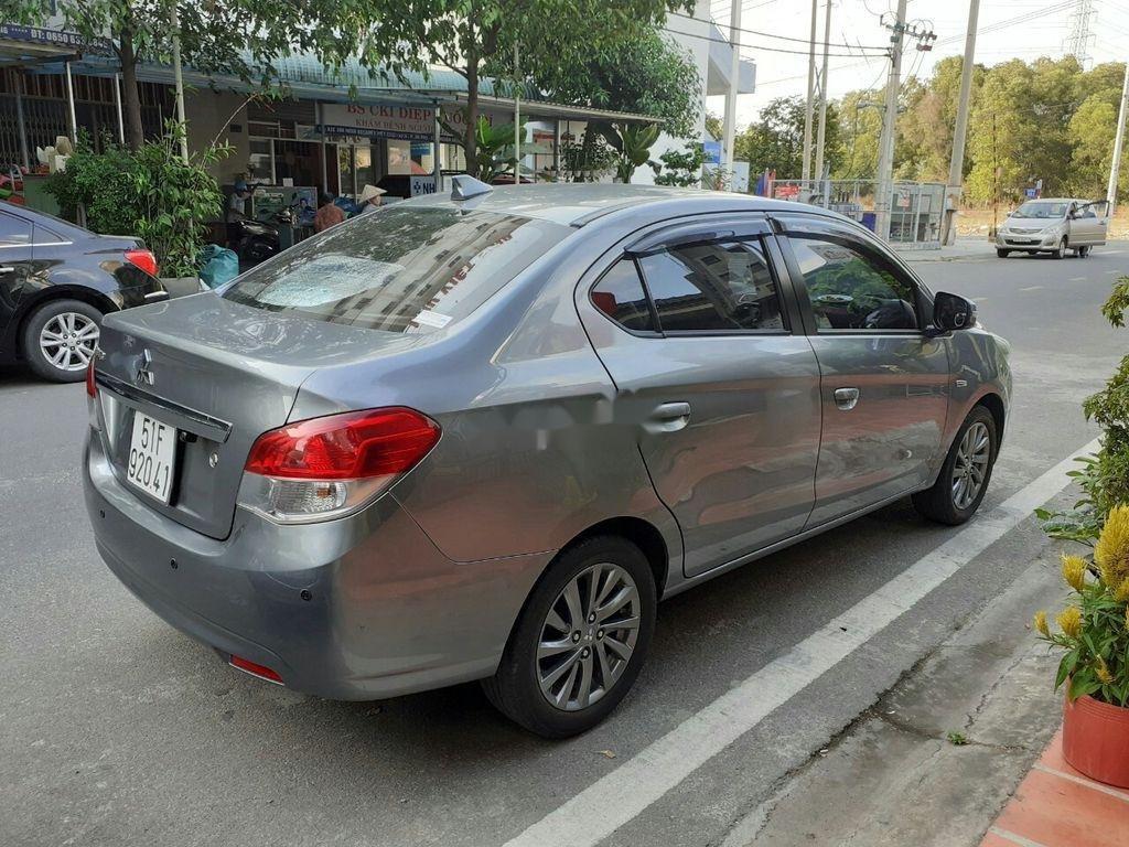 Xe Mitsubishi Attrage đời 2016, màu xám, xe nhập (4)