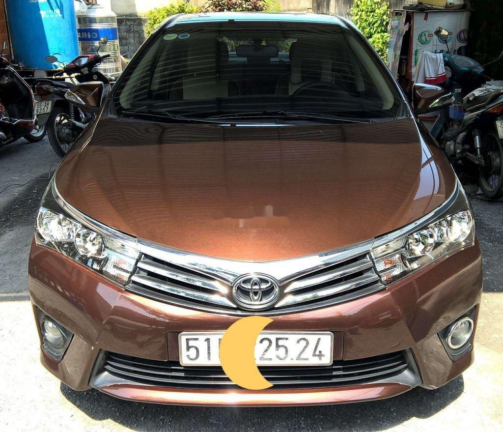 Bán Toyota Corolla Altis CVT 1.8G năm 2015, nhập khẩu giá cạnh tranh (1)