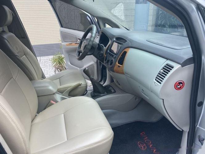 Cần bán gấp Toyota Innova G sản xuất 2012, màu bạc chính chủ, 343tr (4)
