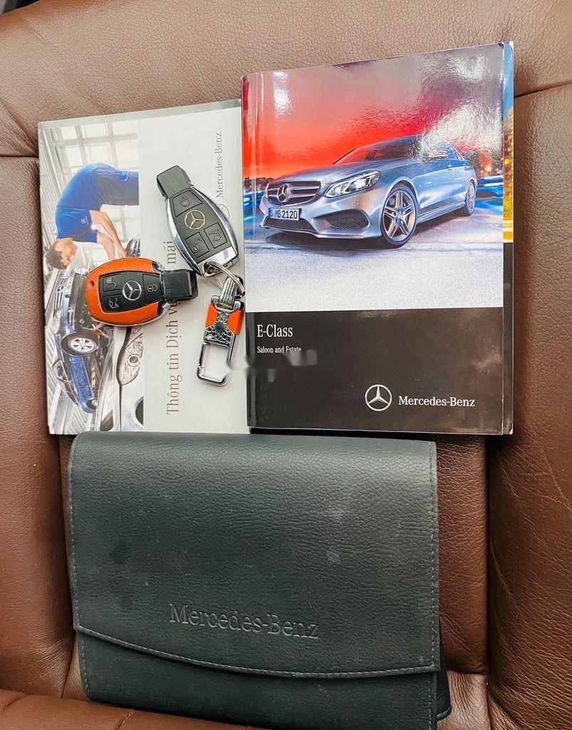 Cần bán Mercedes E250 đời 2014, màu trắng, xe nhập  (11)