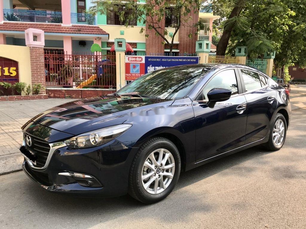 Bán Mazda 3 sản xuất 2019, màu xanh lam chính chủ, giá tốt (2)