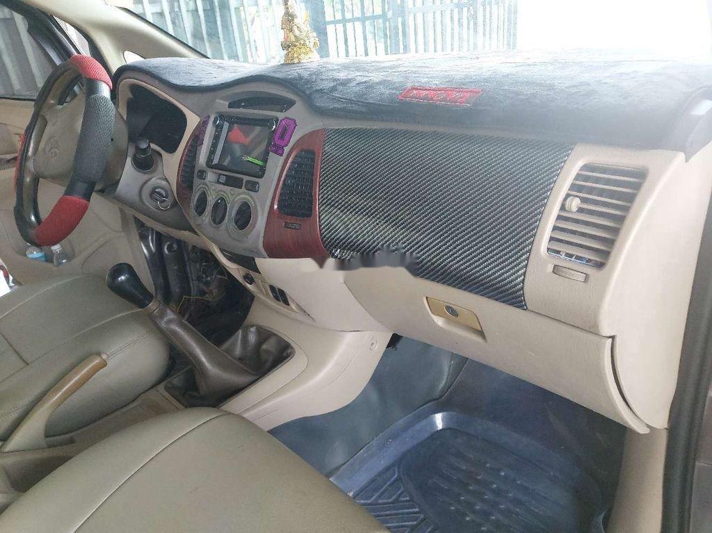 Cần bán lại xe Toyota Innova sản xuất 2006, màu xám còn mới (4)