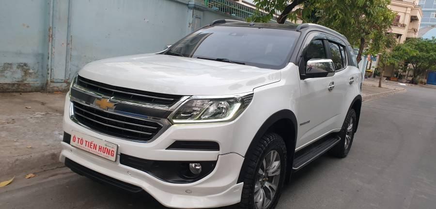 Bán ô tô Chevrolet Trailblazer 2.5 AT năm 2018, màu trắng, nhập khẩu (1)
