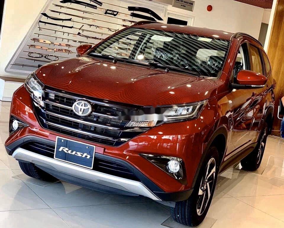 Bán Toyota Rush đời 2021, màu đỏ, nhập khẩu nguyên chiếc (1)